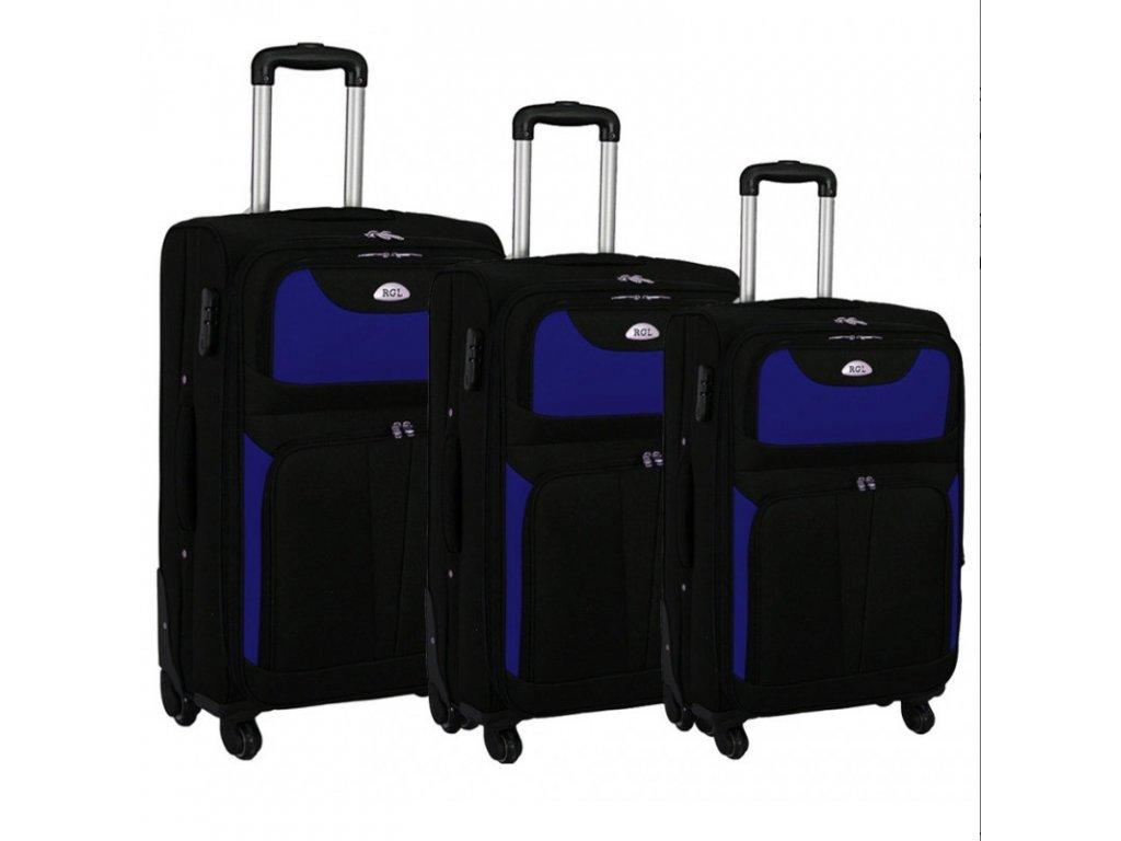Kufr latkovy cestovni HC 010 sada kufru modry