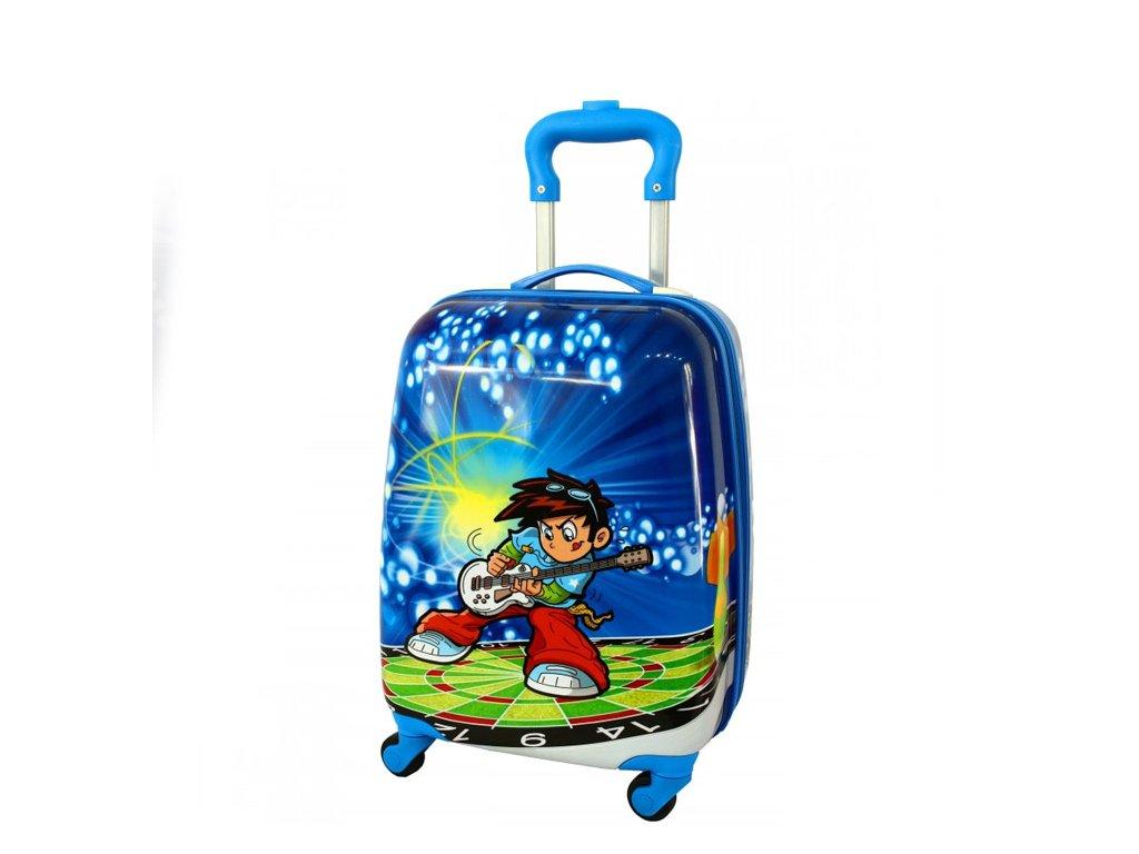 detsky kufr zavazadlo pro tedi kytyrista