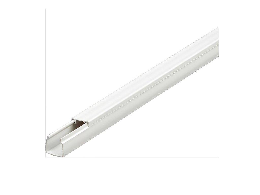 4661674 lišta vkládací elektrikářská 15x15mm bílá