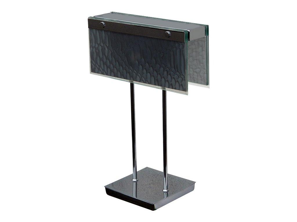 Lampa stolní Sambuca chrom black