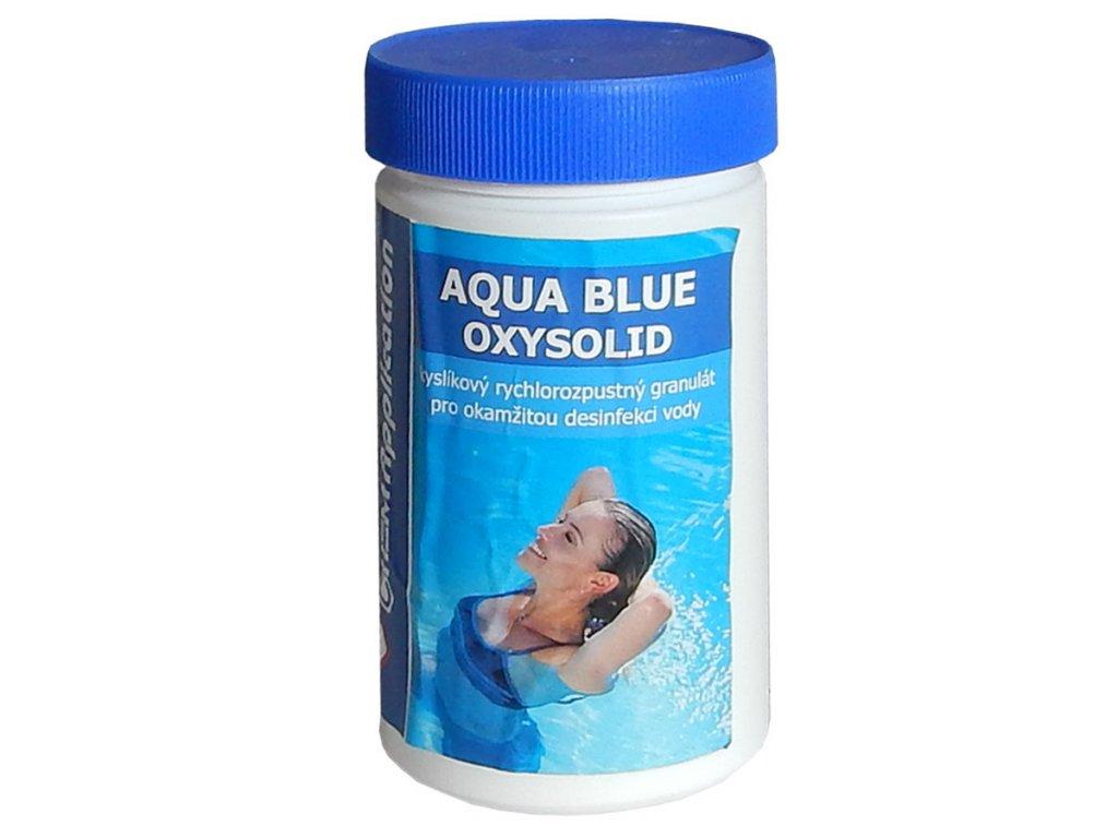 aqua blue oxysolid bazenova chemie chlor