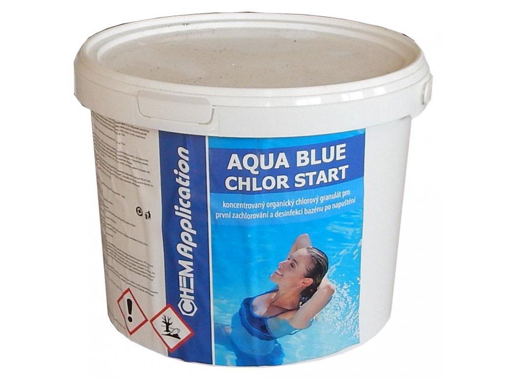 chlor start bazenova chemie 5kg