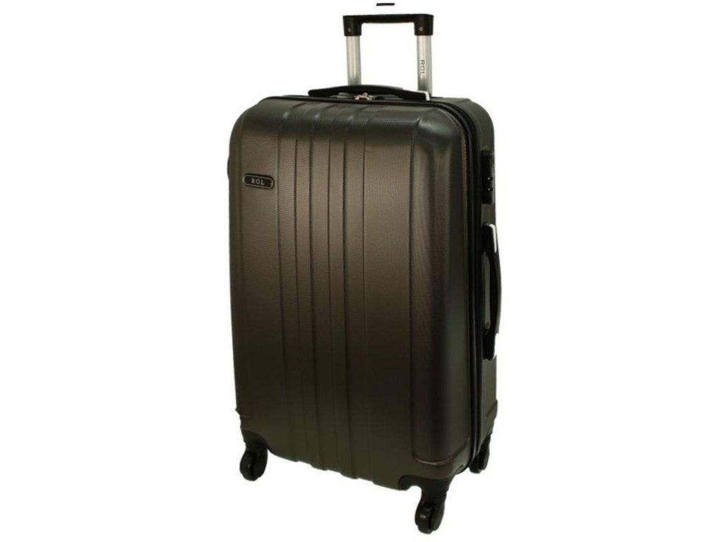 kufr 740 tm.šedý