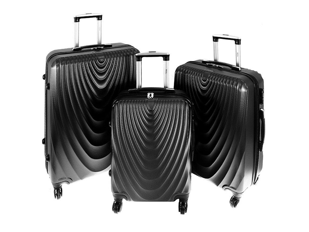 cestovni kufr na koleckach sada kufru 663 tmave sedy