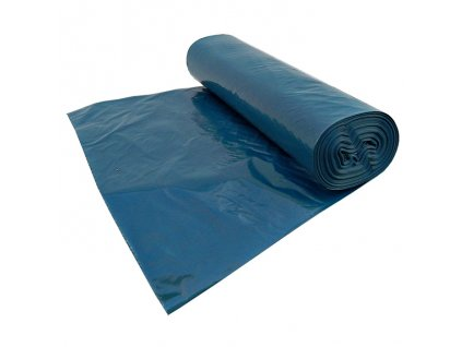 Pytle na odpad igelitové odpadové pytel na odpadky 70x110 40 mic modre
