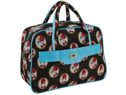 cestovni palubni zavazadlo do letadla WIZZAIR Ryanair 40x30x20 cm vzor 26