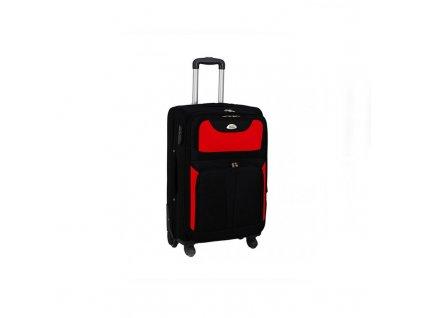 kufr latkovy s koleky cerveny maly