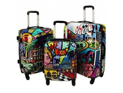 cestovni skorepinovy kufr picasso sada kufru