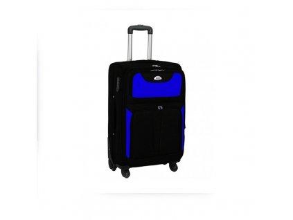 kufr latkovy s koleky modry maly