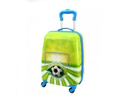 detsky kufr zavazadlo pro tedi fotbal