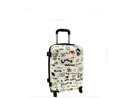 cestovni skorepinovy kufr 5188 loves maly