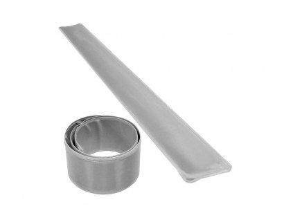 reflexní páska stříbrná pro chodce