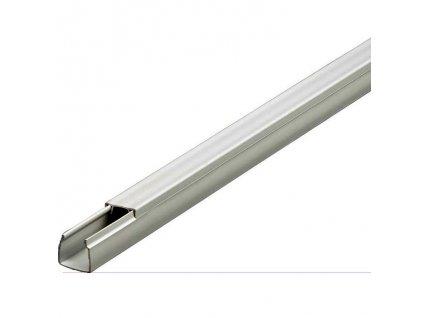 4661559 lišta vkládací elektrikářská 15x15mm šedá