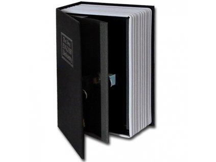 31515 2971 vyrp11 1926trezor kniha 180x115x54mm cerna detail