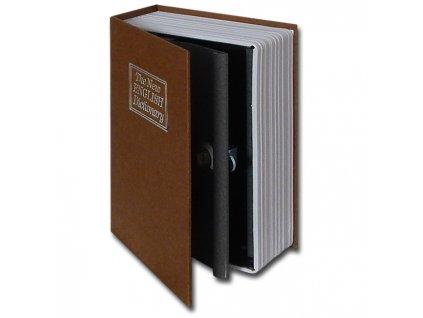 31515 2970 vyrp11 1925trezor kniha 180x115x54mm hneda detail