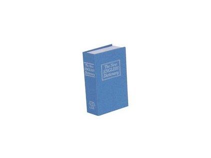 trezor kniha modrá