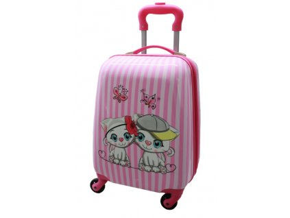 dětský kufr kočičky