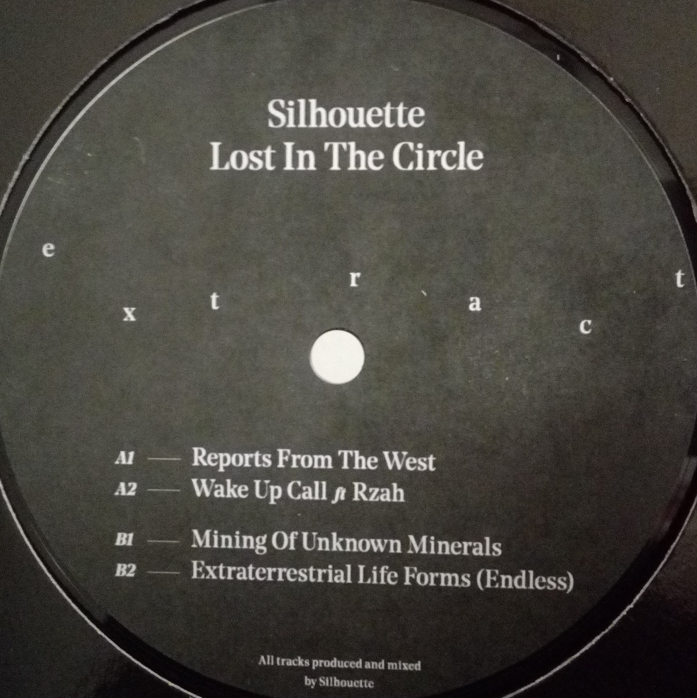 2.2 | Gramcast : Silhouette Lost In The Circle (Extract) | Vinyl Release Party