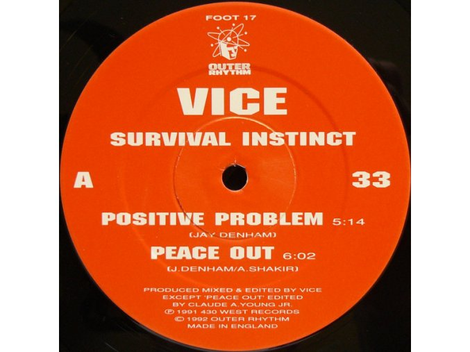 Vice – Survival Instinct [Outer Rhythm]