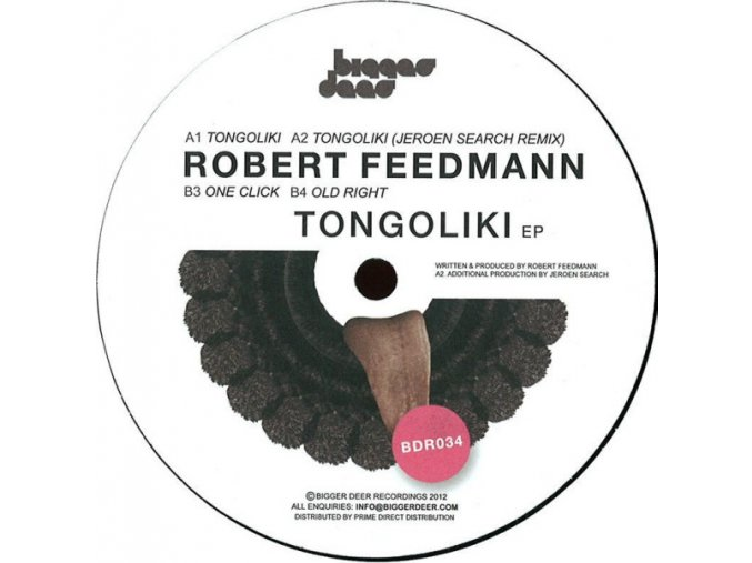 Robert Feedmann – Tongoliki EP