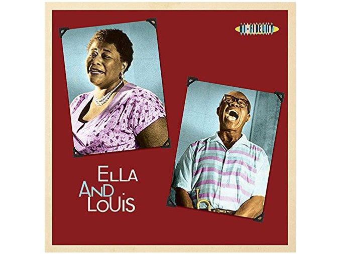 Ella Fitzgerald & Louis Armstrong – Ella And Louis (Reissue, 180 Gram)