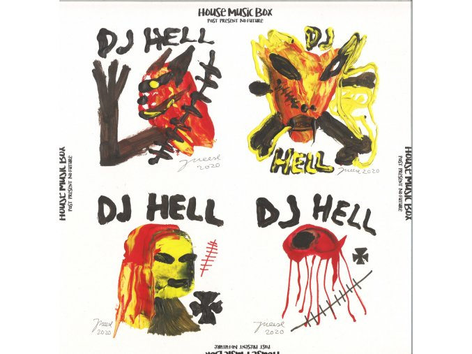 DJ Hell ‎– House Music Box (Past Present No Future) 2 x 12""
