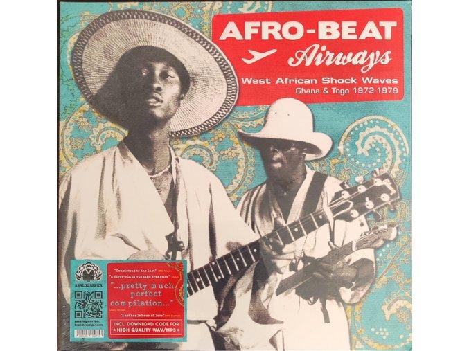 Afro-Beat Airways - West African Shock Waves - Ghana & Togo 1972-1979 2 x Vinyl Reissue
