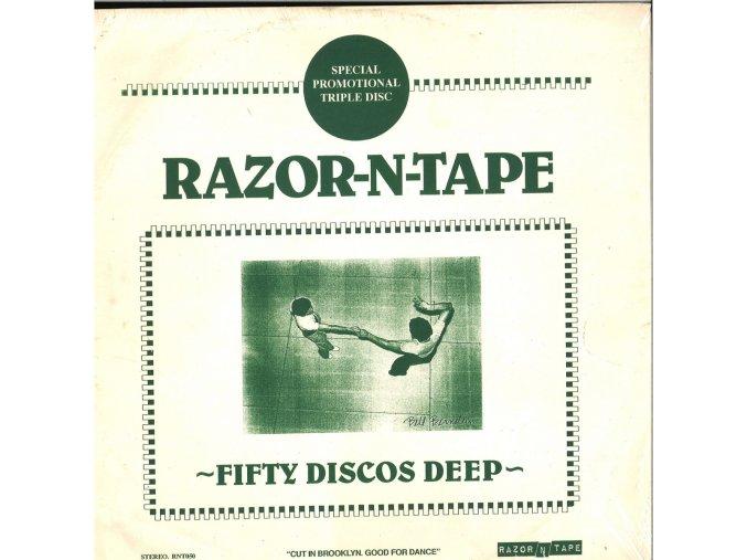 "Fifty Discos Deep [Razor N Tape] 3 x 12"" 180gr"