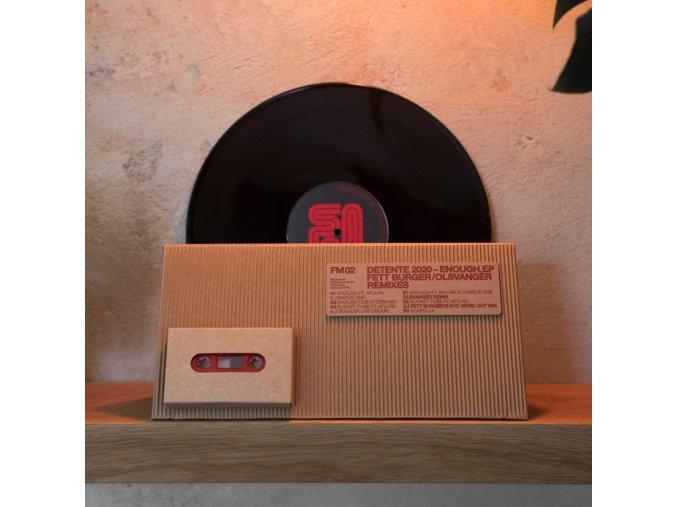 Detente 2020 - Enough vinyl plus cassette