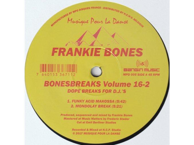 Frankie Bones – Bonesbreaks Volume 16-2 (Dope Breaks For D.J.'s)