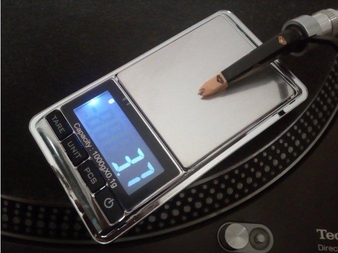 Váha pro kalibraci přenosky / digital scale 1000 gr