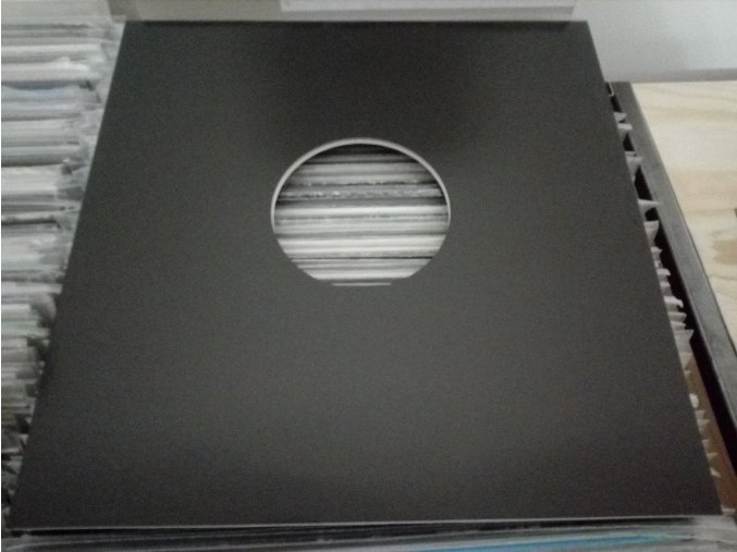 """Vnější papírový obal černý 12"""" LP"""