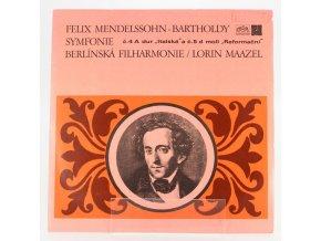 lp felix mendelssohn bartholdy symfonie 4 5 0