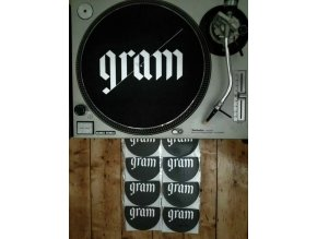 2 x Gram Records Slipmat