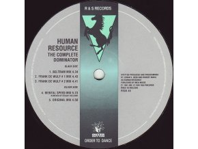 Human Resource ‎– The Complete Dominator