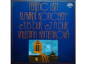 More Images Ferenc Liszt, Valentina Kameníková – Klavírní Koncerty Č1 Es Dur Č2 A Dur