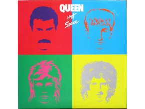 Queen ‎– Hot Space (Reissue, Remastered, Limited Edition)