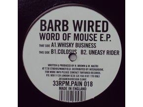 Barb Wired ‎– Word Of Mouse