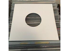 """Vnější papírový obal bílý 10"""" EP"""