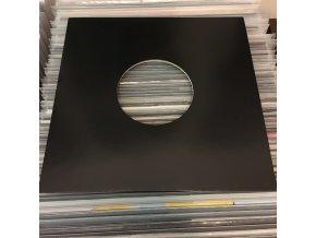 """Vnější papírový obal černý 10"""" EP"""