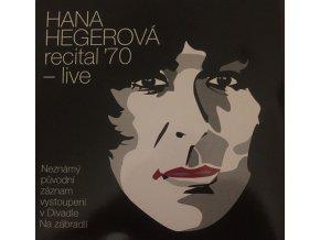 Hana Hegerová – Recital '70 - Live