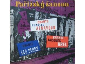Charles Aznavour, Jacques Brel, Leo Ferré – Pařížský Šanson