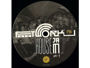Various ‎– Footwork House Jam #1