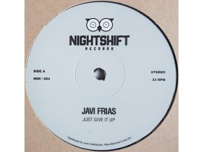 Javi Frías ‎– Just Give It Up