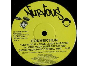 Convertion Feat. Leroy Burgess ‎– Let's Do It (A Louie Vega Interpretation)