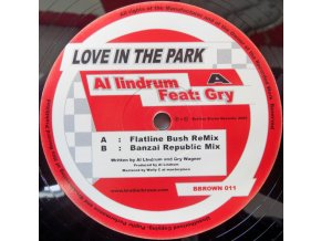 Al Lindrum Feat: Gry Wagner ‎– Love In The Park