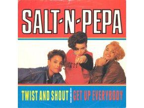 Salt 'N' Pepa – Twist And Shout : Get Up Everybody 7''
