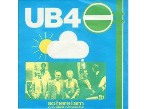 UB40 – So Here I Am 7''
