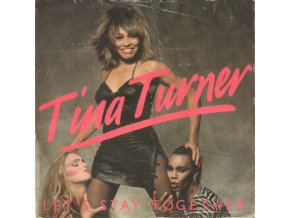 Tina Turner ‎– Let's Stay Together 7''