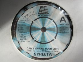 Syreeta ‎– Can't Shake Your Love : Wish Upon A Star 7''